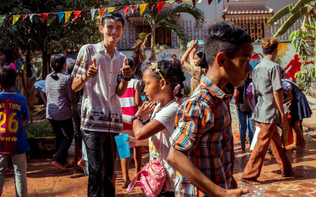 A Lot of Fun for Khmer New Year